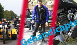 Ondanks handicap gewoon motorrijden