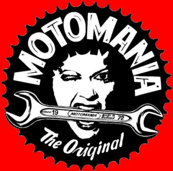 Motomania: emblems, designs, sweatshirts etc.