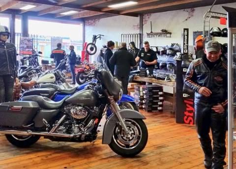 Open dag bij motorzaak Twin-Performance Ommen 6 mei