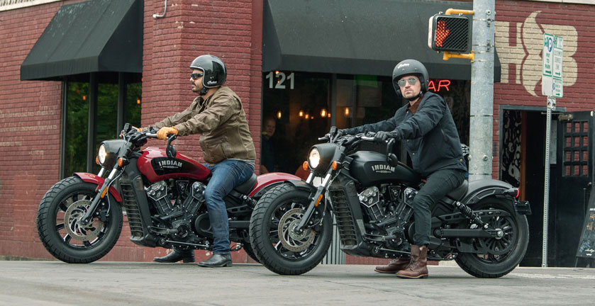 2018 Indian Motorcycles Scout Bobber: less is more!