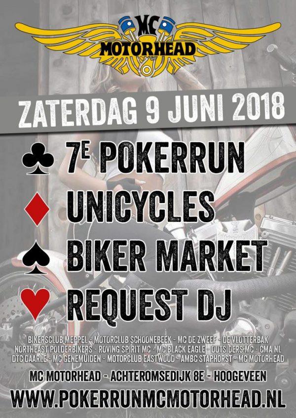 7e Pokerrun MC Motorhead 9 juni